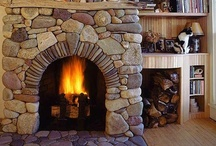 By The Fireplace / Fire place