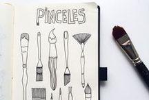 Beatriz Makes Ilustraciones /  #sketchbook #scrapbooking #illustration #ilustraciones