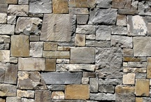 Mountain Lodge Fieldstone / This domestic quartzite is available in either cool (grey) or warm (brown) tones. It is a wonderful choice for classic Western style architecture or as a welcome counterpoint to modern sensibility.