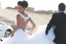Wedding dresses / by Jennifer Pellek Hoffman