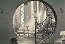 Art Deco Architecture and Interior Design/Decor / Art Deco and 1920's architecture and interior design