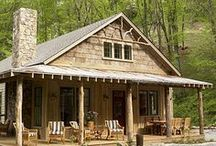 Cabins & Barns & Cottages / by Lexie Ethridge