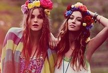 Festival Season / Get inspired this festival season with field-ready frocks, lashings of denim and Navajo accessories; you'll be the ultimate boho babe in no time. Just add wellies!