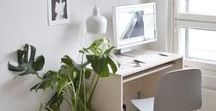 Office / Office and work space design and decor.