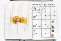 Bullet Journal: Monthly Layouts