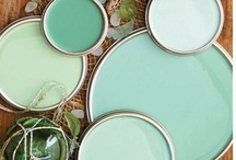Delicious duck egg blue / Beautiful things in my favourite colour - duck egg blue