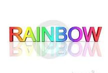 RAINBOW / all things i found that are rainbows