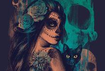 Día de los Muertos. / by Cecsi Haze