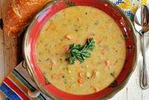 soups. / by Davida {The Healthy Maven}