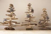 Coastal Christmas / Stunning handmade Christmas decorations with coastal theme.
