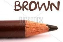 BROWN / all things brown