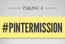 Pintermission by Honda / A genius marketing concept by Honda- our brand offered some of the most active pinners some moolah to take a 24-hour Pinterest break, to get out and do some of the stuff they're pinning about.