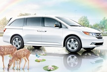 2012 Honda campaign / We can't really take credit for these, but we'll ride the coattails! With the beautiful artwork and creative concept, Friendly gives these ads a big ol' thumbs up.