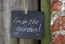 Thrifty Garden Chic / I just love funky old junk in the garden!