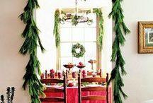 Tasteful Christmas Decor / Classic, timeless christmas decorating