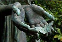 ★ Graveyard Art ★ / Tombstone art, grave art, cemetery, sculpture