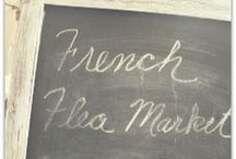 French Flea Market / ~shabby French flea market style~ / by Carolyn