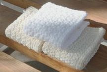 Crochet Washrags and Towels / Kitchen & Bath / by Melody Chakerian
