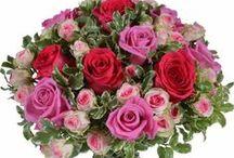Fleurs Saint-Valentin / Inspirations et bouquets disponibles à la vente pour la Saint-Valentin !