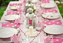 Set The Table / Every great party starts with a beautifully set table!