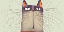 Art - Cats / Because, of course, cats! (I am Smiling Cat Studio, you know!)