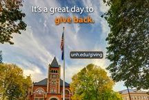 Invest in UNH / UNH fundraising and UNH Fund campaign initiatives   / by University of New Hampshire
