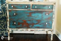 Favorite Painted & Restored Pieces / by Michelle Bloxham
