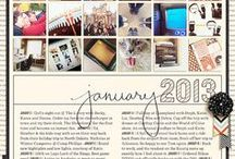 Photo books / Ideas & page/photo layouts for photo books. Project Life, Blurb, free printables & downloads. / by Kellie Lombard