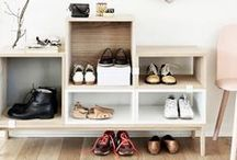 But where is the left shoe? / So many shoes, so little space! Cute and Crafty ideas to store shoes. / by The Shoe Mart