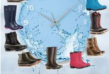 Rainy Day / Rainy Days aren't a problem with waterproof footwear from #TheShoeMart . Take on mother nature and keep your feet dry. / by The Shoe Mart