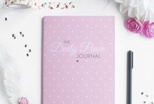 The Daily Peace Journal / The Daily Peace Journal by Ashley Shelly is a guided daily journal that helps you calm your mind and find your focus. All photos by Ashley Shelly.