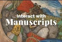 Interact with Manuscripts / Where we admire illuminated, bookish beauties. / by J. Paul Getty Museum