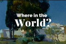Where in the World? / Using art to travel the globe.  / by J. Paul Getty Museum