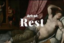 Art at Rest / Relaxing at the Getty Museum. / by J. Paul Getty Museum