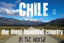CHILE: longest country in the world! / From the arid deserts of the Atacama in the North, passing though the central valleys famous for their wine... going down South to the awe-inspiring Patagonia!  More on www.bkpk.me