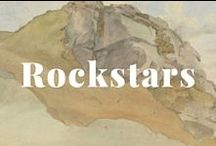 Rock Stars / Marble, chalcedony, porphyry, alabaster, carnelian,  amethyst, jasper, granite, sandstone, quartz, boulders, and more making beautiful music at the Getty. / by J. Paul Getty Museum