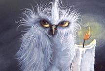 owls / by Pamela Waddell
