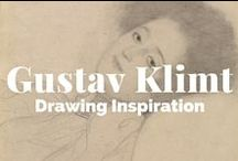 Gustav Klimt: Drawing Inspiration / From his earliest work in the 1880s to his death, Klimt's entire artistic enterprise was based on drawing, which he practiced every day.  / by J. Paul Getty Museum