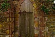 Doors, door knobs and door knockers / by Pamela Waddell