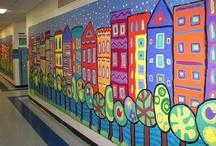 School Art Ideas / by Dawn Loewen-Motz