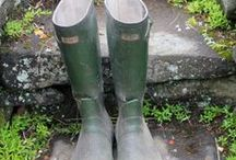rain boots and wellies... / by Pamela Waddell