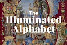 The Illuminated Alphabet / Antiphonal, Bestiary, Choir Book. The visual language of illuminated manuscript initials / by J. Paul Getty Museum
