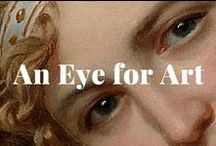 An Eye for Art / Eyes are the mirror of the soul. Can you identify the artist? See the answers by following the image links. / by J. Paul Getty Museum