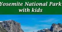 Yosemite National Park with Kids / Tips, advice and reviews for families planning travel to Yosemite National Park with kids #familytravel #Yosemite #California