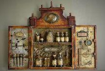 Cabinet of curiosities... / by Pamela Waddell