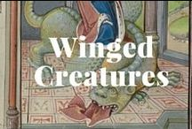 Winged Creatures / Angels, dragons, & other winged creatures. / by J. Paul Getty Museum