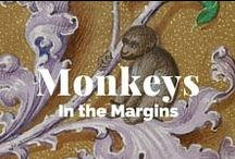Monkeys in the Margins / Mischievous medieval+ manuscript monkeys. Collaborative board created with @DamienKempf and @bxknits / by J. Paul Getty Museum