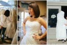 Operation Wedding Gown / Some pictures from our nationwide gown giveaway events.