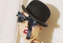 Undercover / No Attitude Required.  The Hat brings the Attitude. Philip Treacy  / by Ellanista