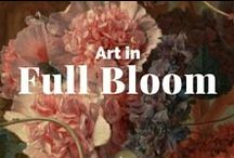 Art in Full Bloom / Flowers depicted in paint, photography, wood carving, porcelain and more.  / by J. Paul Getty Museum
